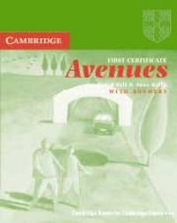 First cert. avenues revised ed. wb key
