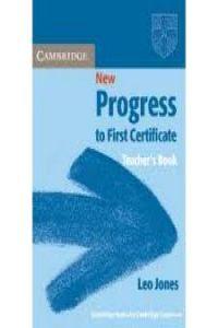New prog. first cert. tch