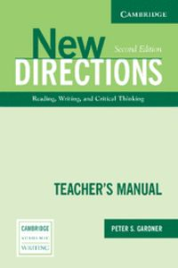 New directions teacher's manual 2nd edition