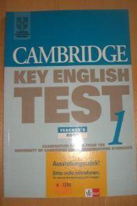 Cambridge key english test 1 tch                  cam