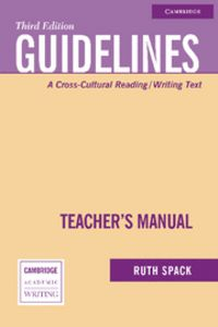 Guidelines teacher's manual 3rd edition