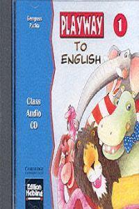 Playway to english 1 class cd                     camin