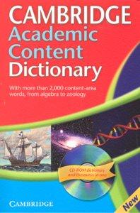 Dic.cambrige academic content +cd-rom