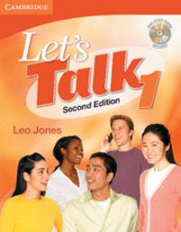 Let's talk student's book 1 with self-study audio cd 2nd edi