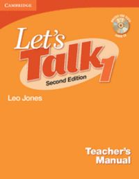 Let's talk level 1 teacher's manual with audio cd 2nd editio