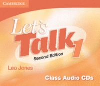 Let's talk level 1 class audio cds (3) 2nd edition