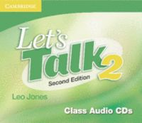 Let's talk class audio cds 2 2nd edition