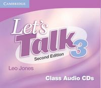 Lets talk 3 audio cd second edition