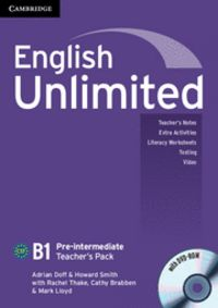 English unlimited pre-intermediate teacher's pack (teacher's