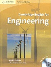 Cambridge english for engineering sb audio cd