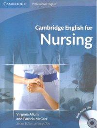 Cambridge english for nursing sb audio cd