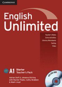 English unlimited starter teacher's pack (teacher's book wit