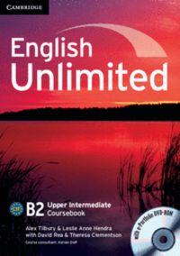 English unlimited upper intermediate coursebook wi