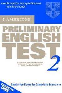 Cambridge preliminary eng.test 2 cass 2ªed