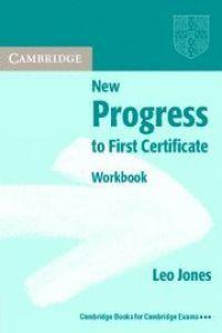 New progress first certificate wb