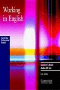 Working in english cd