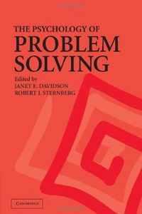 Psychology of problem solving,the
