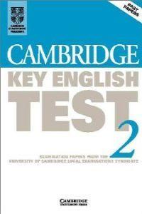 Cambridge key english test 2 st