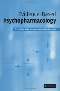 Evidence based psychophad macologi