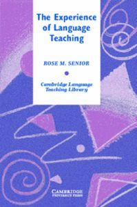 The experience of language teaching hardback