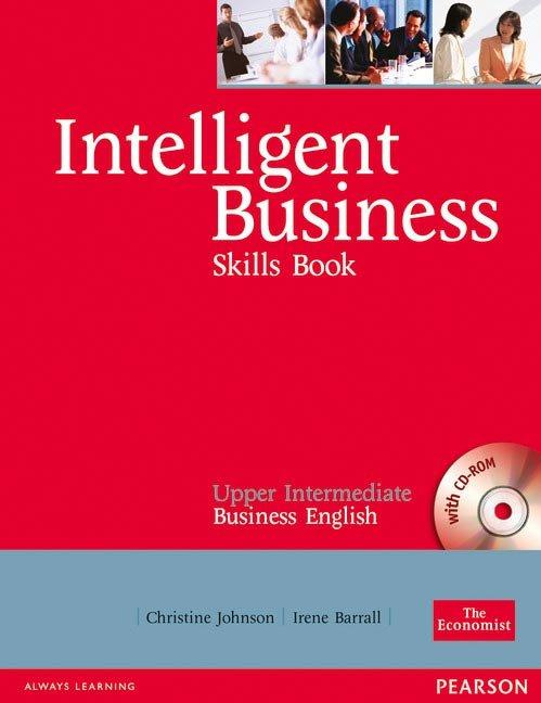 Intelligent business upper intermediate skills boo