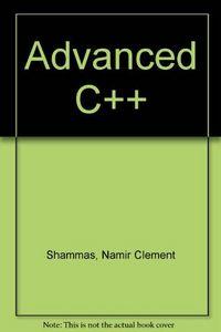Advanced c++ (diskette)