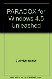 Paradox 4.5 windows unleas.-dsk