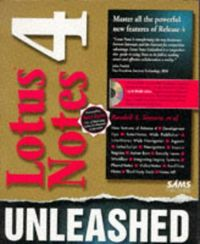 Lotus notes 4 unleashed-cd rom