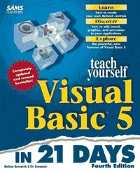 Ty visual basic 5 in 21 days