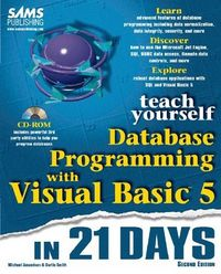 Teach yourself database prog.v.basic 5