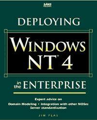 Deploying windows nt 4 enterprise