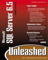 Micosoft sql server 6.5 unleashed 3/e