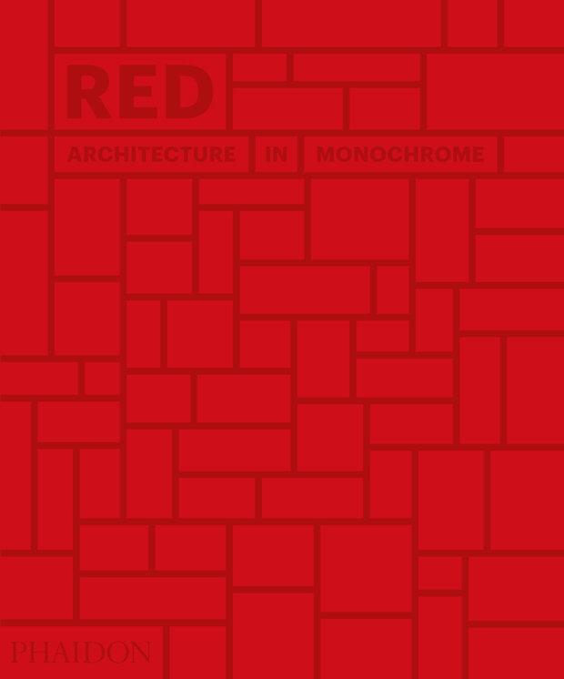 Red - architecture in monochrome