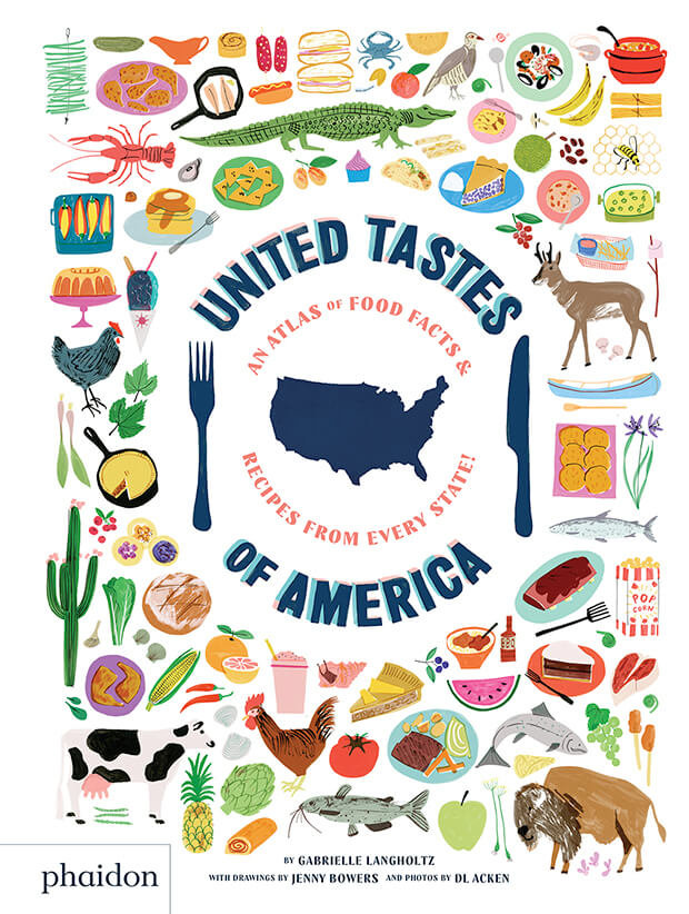 United tastes of america an atlas of food fa
