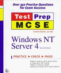Mcse test prep windows nt server 4 2/e