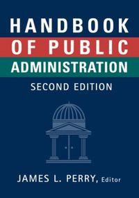 Handbook of public administration-2/e