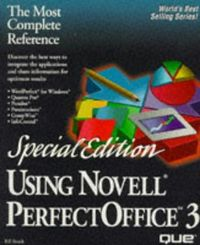 Using novell perfect office 3