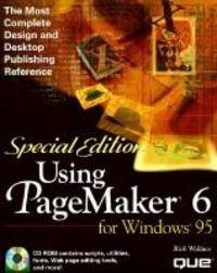 Using pagemaker 6 win 95