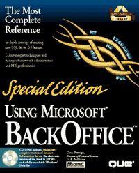 Using microsoft backoffice special edi