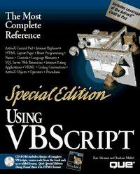 Using visual basic script special edit