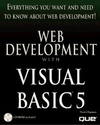 Web development visual basic 5