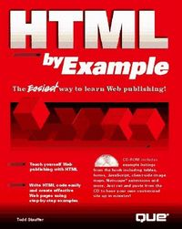 Html by example c/cd-rom