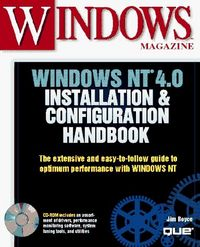 Windows nt 4.0 install