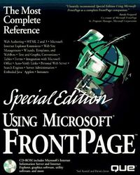 Using microsoft frontpage spec.ed. cd