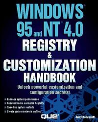 Windows 95 nt 4.0 registry cust.handbo