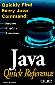 Java quick reference