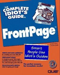 Complete idiots guide frontpage