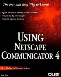 Using netscape communicator 4