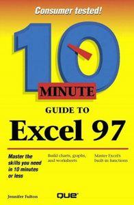 Ten minute guide excel 97