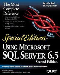 Using microsoft sql server 6.5 2 ed sp